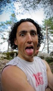 Damz et sa langue
