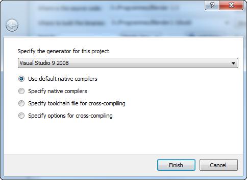 Select compiler